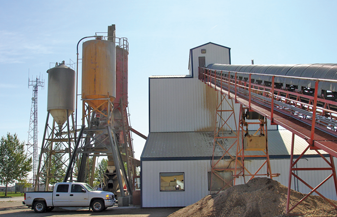 Desna's Serviced Concrete Plant – Dauphin, MB