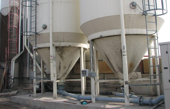 Desna's Silo Level Monitorig System Installation - UNICRETE, Calgary, AB