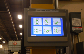 Vessel Monitoring and Control Installation - ENGENIUM, Calgary, AB